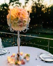 Kerzenständer voctoria weiß