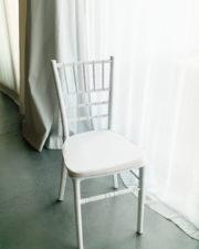 Stuhl Tiffany weiß